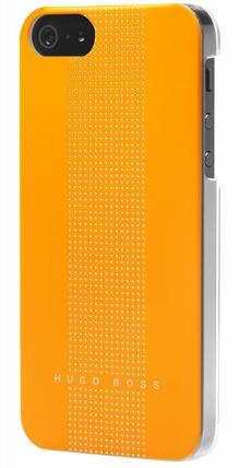Чехол клип-кейс Hugo Boss Dots для iPhone 5/5s желтый
