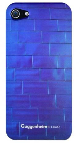 Чехол клип-кейс Guggenheim Hard Electro Gold (COGUIP5ELTIBL) для iPhone 5/5S синий