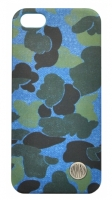 Чехол клип-кейс Replay Art Blue camo для (134REA585.90) iPhone 5/5s