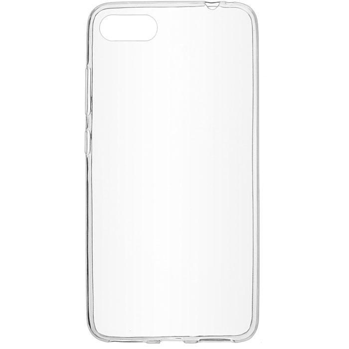 Чехол клип-кейс для iPhone 5/5s/SE (прозрачный, дымчатый)