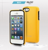 Чехол клип-кейс iGloo skinplayer для iPhone 5/5S Yellow