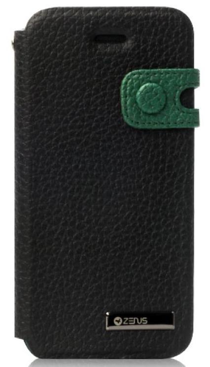 Чехол Zenus Masstige Color Edge Diary для Apple iPhone 5 черный