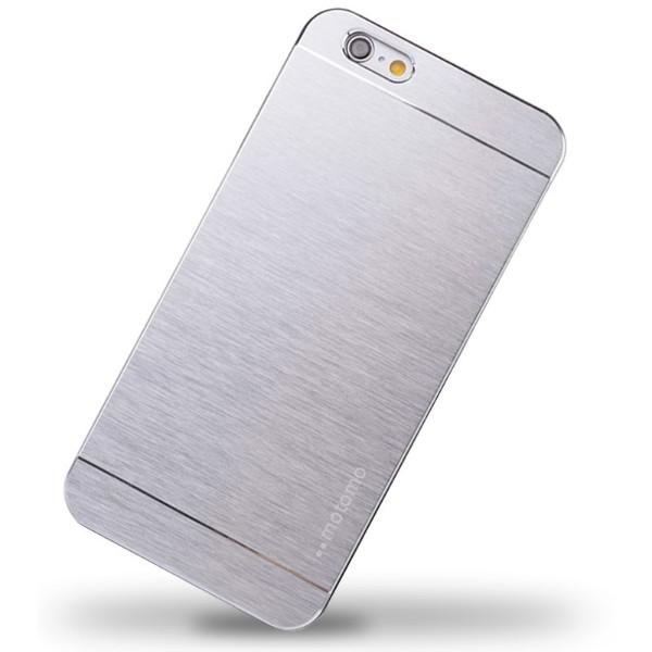 """Чехол Клип-кейс """"Motomo"""" для iPhone 5/5S (серебристый)"""