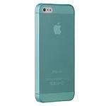Ozaki O!coat 0.3mm Jelly Cyan - ультра тонкая накладка для iPhone 5 (Голубой)
