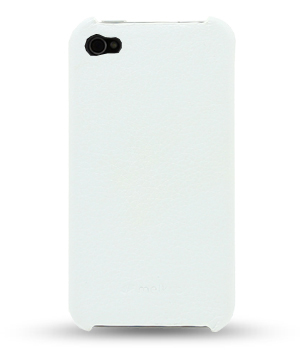 Чехол Melkco Leather Snap Cover for Apple iPhone 4/4S - (White LC) - белый