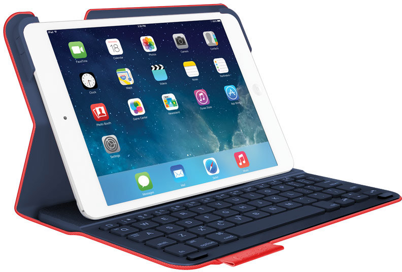 Чехол-клавиатура для iPad Air Logitech Wireless Keyboard Folio Type (красный)