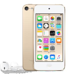 iPod touch 6 64 ГБ золотой