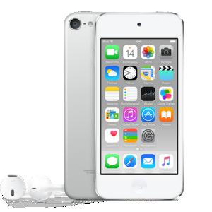 iPod touch 6 128 ГБ серебристый