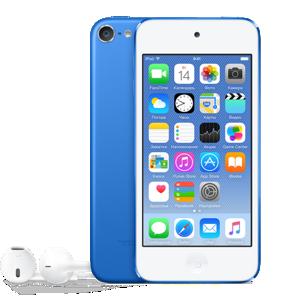 iPod touch 6 128 ГБ голубой