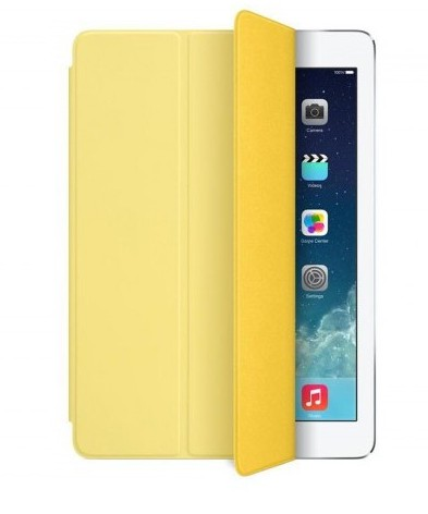 Чехол для iPad mini Smart Cover - Yellow MF063M/A (желтый)
