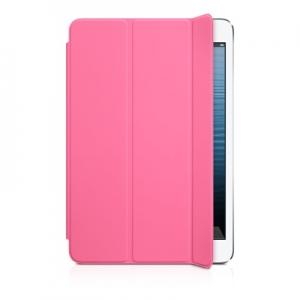Чехол iPad mini Smart Case - Pink (копия) + пластиковая защитная крышка