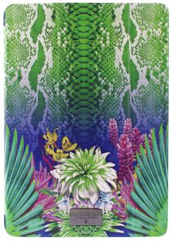 Чехол-книжка Just Cavalli Slim Cover для iPad Mini Retina (с рисунком) Python Flower green