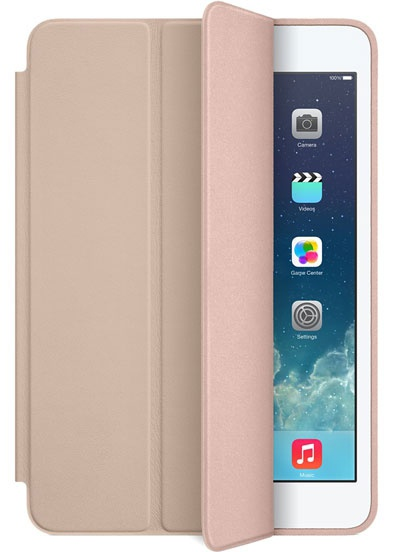 Чехол-книжка Smart Case для iPad mini 1/2/3 (бежевый, реплика)