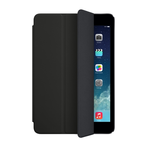 Чехол кейс для Apple iPad mini Smart Cover Black (MF059ZM/A)