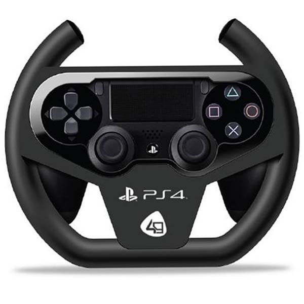 Компактный гоночный руль 4Gamers Compact Racing Wheel для PlayStation 4