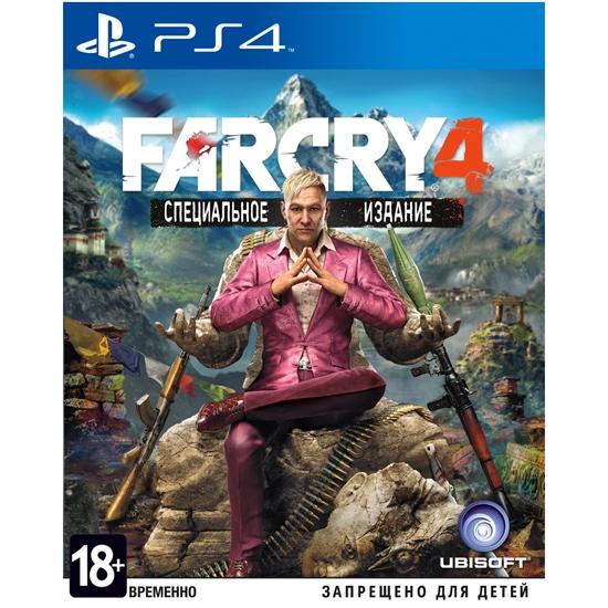 Игра  FarCry 4 Специальное издание. Игра для PS4