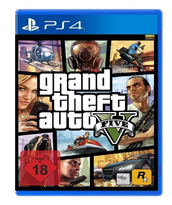 Grand Theft Auto V (GTA 5). Игра для PS4