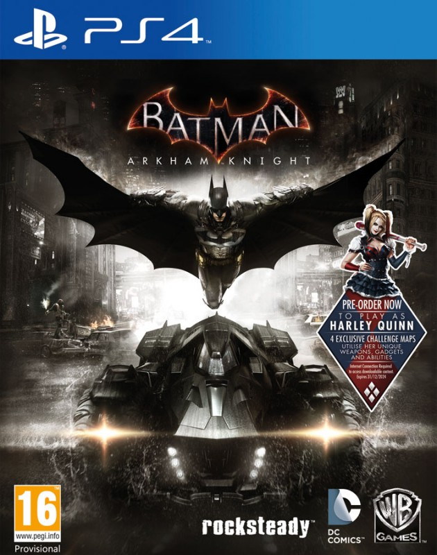 Batman: Рыцарь Аркхема (Arkham Knight). Игра для PS4