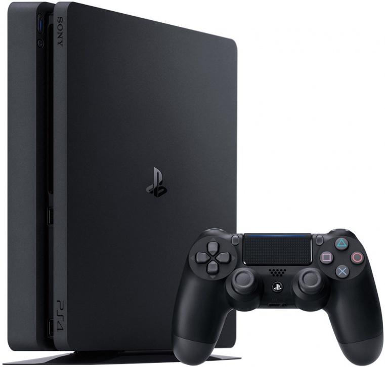Игровая приставка Sony PlayStation 4 Slim 1ТБ + джойстик