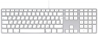 Клавиатура Apple Keyboard-Rus MB110RU/B (серебристый)