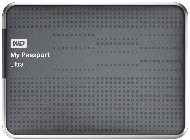 Внешний жесткий диск WD Western Digital My Passport Ultra 2Тб USB 3.0 (WDBBUZ0020BTT-EEUE)