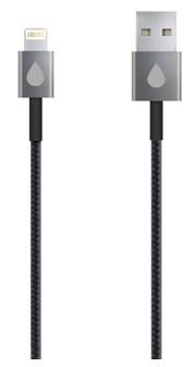Кабель Juicies+ 8pin Apple Lightning MFi черный