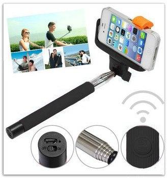 Монопод ручной 24-100 см model: Z 07-5 с Bluetooth кнопкой для фото