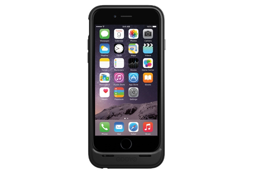Чехол-аккумулятор ODOYO Power+Shell EX для iPhone 6 черный
