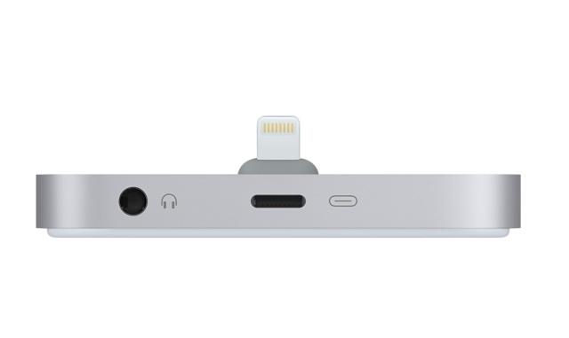 Док-станция для iPhone с разъёмом Lightning (ML8H2ZM/A) – Серый космос