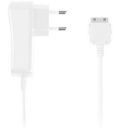 Зарядное устройство DENN DCA 971 для Apple (iPad,iPod,iPhone), выходной ток 2.1А, кабель 1.5м (white)