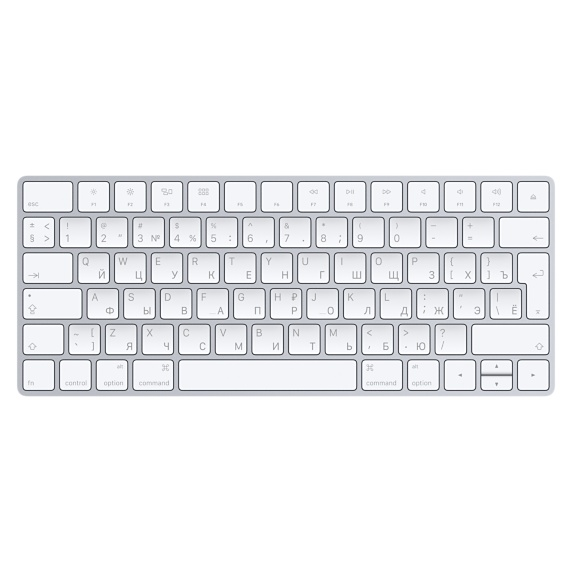 Беспроводная клавиатура Apple Magic Keyboard MLA22RU - Русский