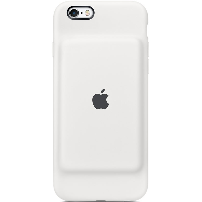 Чехол-аккумулятор Apple Smart Battery Case для iPhone 6s – белый MGQM2ZM/A