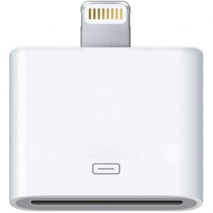 Apple Lightning to 30-pin Adapter Переходник для iPhone/iPod/iPad (md823zm)
