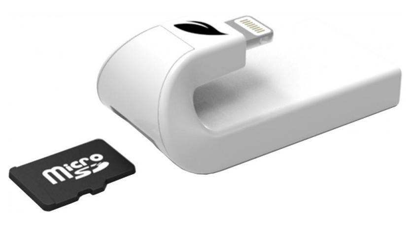 Leef iAccess MicroSD картридер для iOS устройств