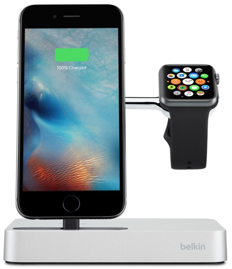 Зарядная док-станция Belkin Valet для Apple Watch и iPhone