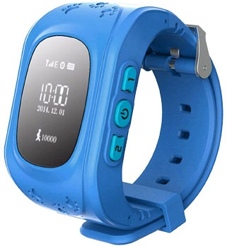 Умные часы Кнопка Жизни K911 (синий)