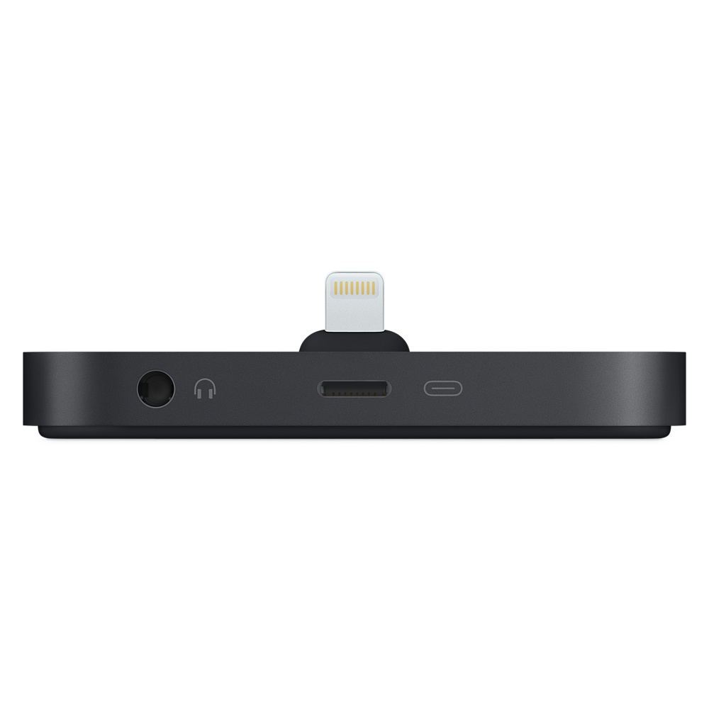 Док-станция для iPhone с разъёмом Lightning – чёрный цвет (MNN62)