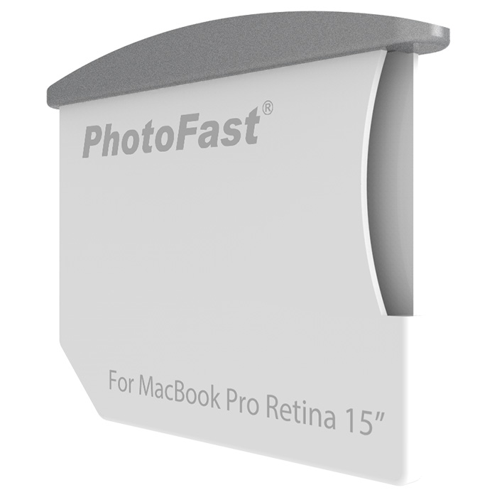 PhotoFast Memory Expansion Combo Kit (CR8700#MBPR15-14) - microSD-картридер для MacBook Pro Retina 15' от 2013-2014 г (White/Black)