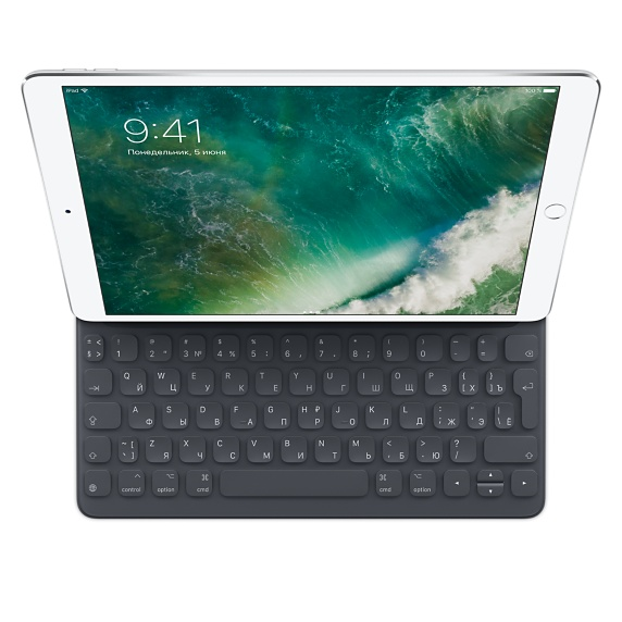 Клавиатура Smart Keyboard для iPad Pro 10,5 дюйма, русская раскладка (MPTL2)