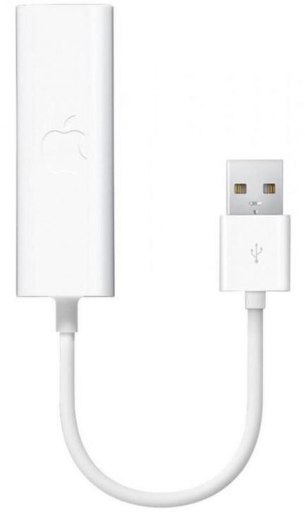 Адаптер Apple USB Ethernet MC704ZM/A (белый)