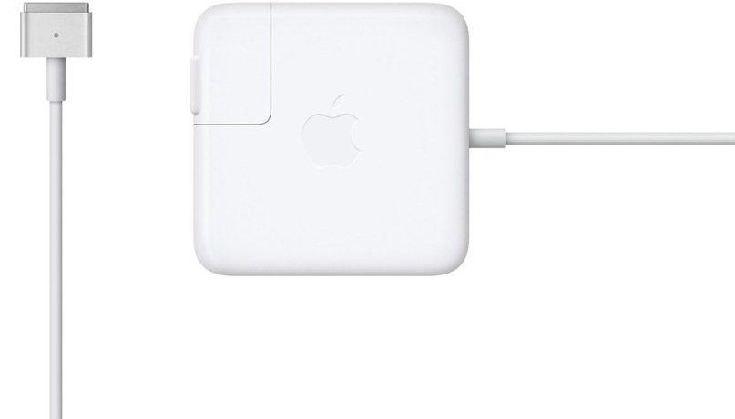 Сетевое зарядное устройство Apple 45 ВТ (45W) MagSafe 2 Power Adapter (белый) MD592Z/A