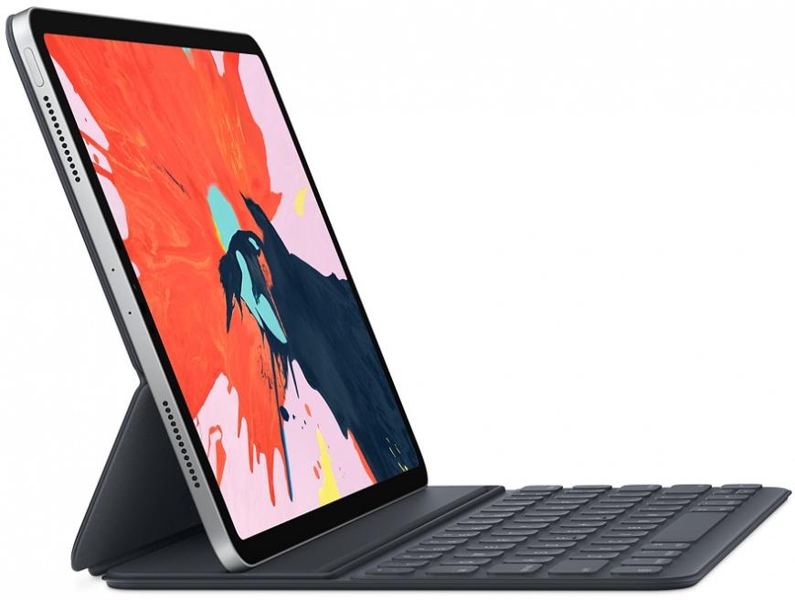 Клавиатура Smart Keyboard Folio для iPad Pro 12,9 дюйма (3-го поколения), русская раскладка (MU8H2) 2018