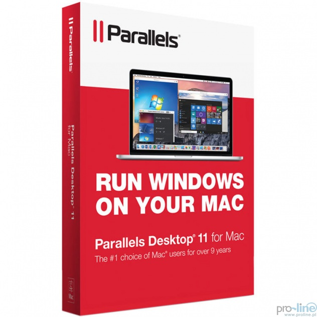 Parallels Desktop 11 для mac