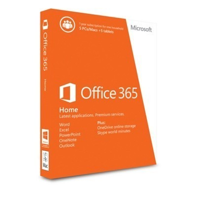 Office Home 365  на 5 ПК или Mac 1 год (электронная версия)