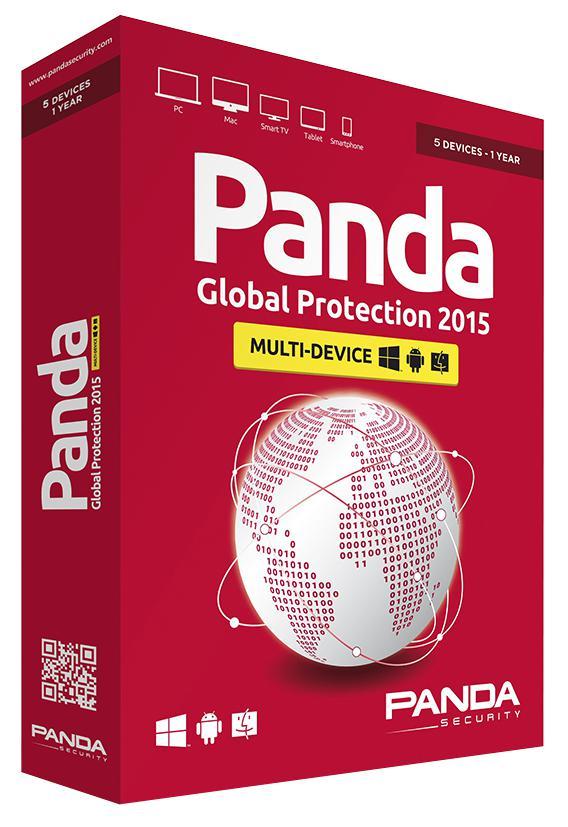 Panda Global Protection 2015 12 месяцев на 1 ПК