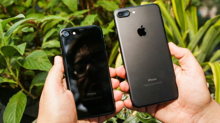 iPhone 7 Jet Black vs Black