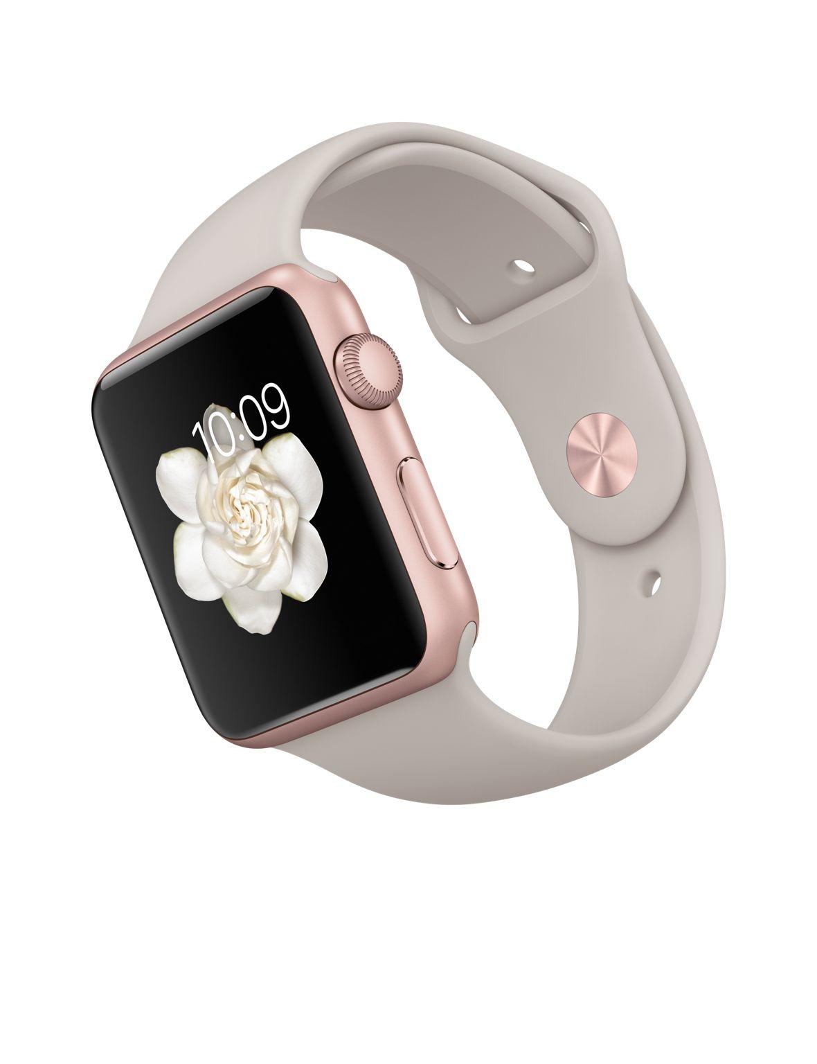 Часы представлены в двух размерах - 42 мм (цвета глубокий чёрный или розовое золото) и 46 мм (цвет серебристая сталь).