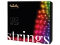 Smart-гирлянда Twinkly Strings TWS100STP-BEU (100 LED, Bluetooth + Wi-Fi)